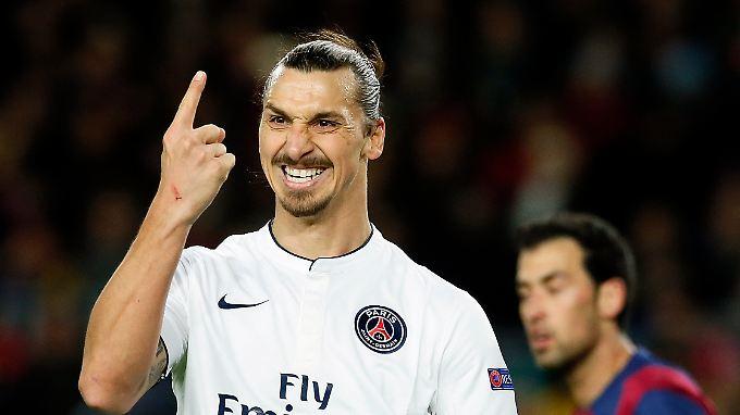 Einem Zlatan Ibrahimovic mogelt man kein anderes Kind unter.