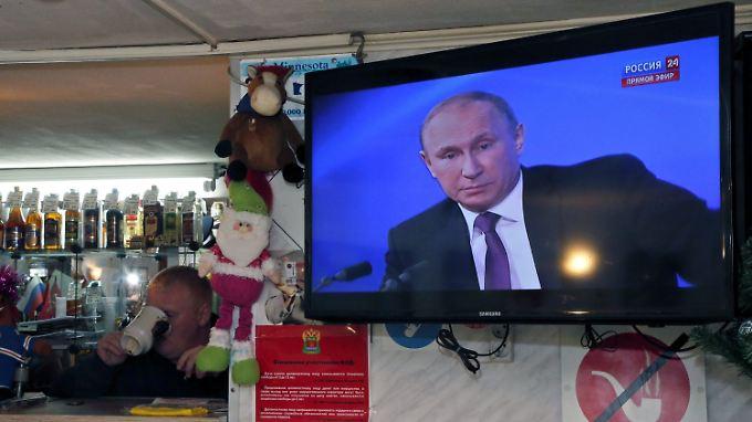Eine Tasse Tee und die Putin-Rede werden wohl nicht reichen, um Bürger und Finanzmärkte zu beruhigen.