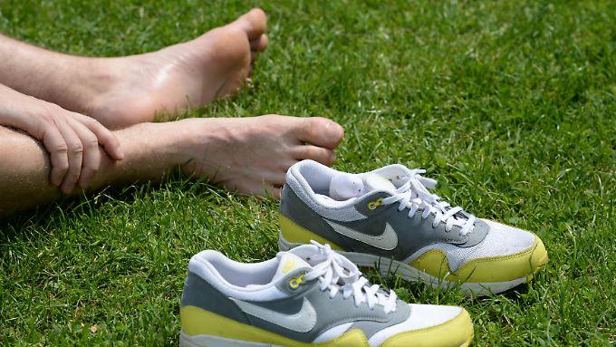 Glänzende Quartalszahlen: Nike kann die Füße nicht hochlegen
