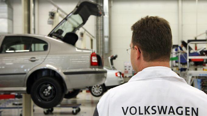 Produktion bei VW im russischen Kaluga.