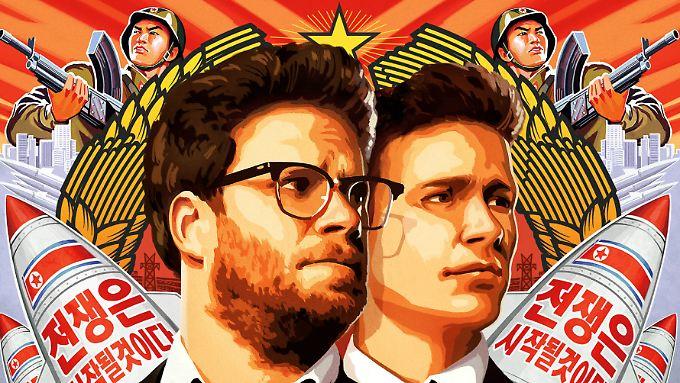 """Das Filmplakat von """"The Interview"""" gehört zu den schönsten des vergangenen Jahres."""