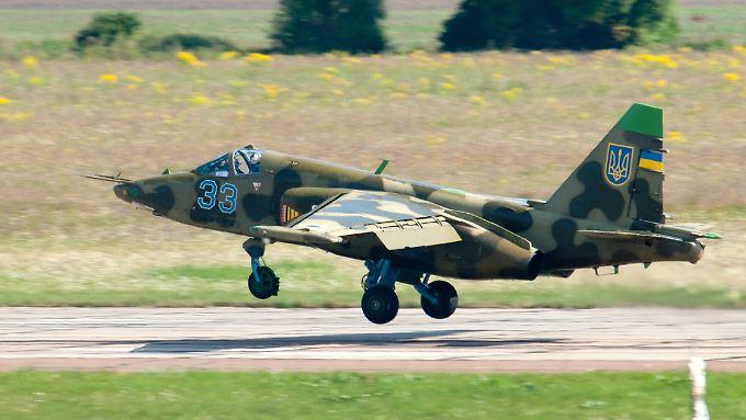 Eine ukrainische Su-25 soll das Passagierflugzeug abgeschossen haben.