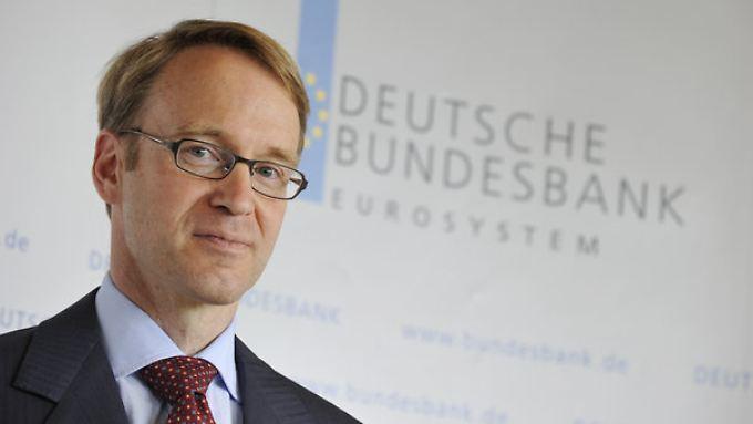 Bundesbankpräsident Weidmann blickt zuversichtlich auf das kommende Jahr.