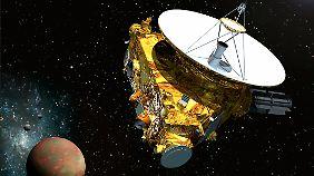 """Die Nasa-Sonde """"New Horizons"""" soll im Sommer den Zwergplaneten Pluto erreichen."""