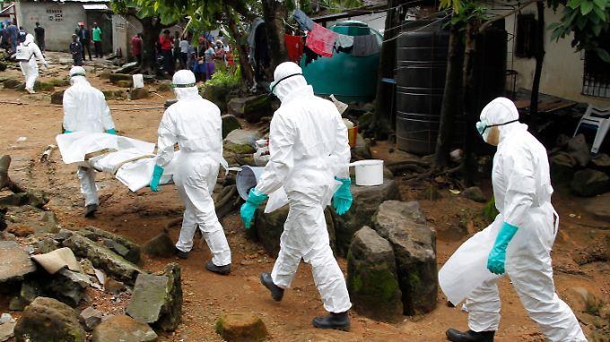 Tausende Menschen sind in diesem Jahr an Ebola gestorben.