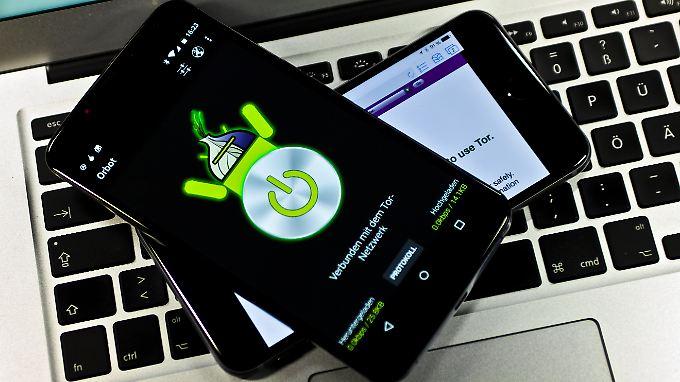 Auch auf Smartphones kann man das Tor-Netzwerk nutzen. Es gibt allerdings einiges zu beachten.