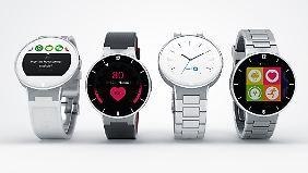 Die Alcatel Watch feiert auf der CES Premiere.