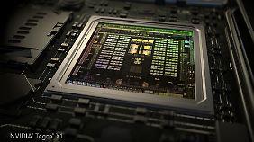 Der Nvidia Tegra X1 kommt in selbstfahrenden Autos zum Einsatz.