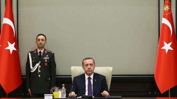 Erdogan wirft der EU Fremden- und Islamfeindlichkeit vor.