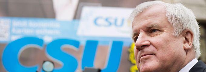 """""""Ich habe das große Ziel"""": Horst Seehofer strebt einen """"geordneten Generationenübergang"""" an."""