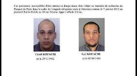 Fahndungsaufruf: Die beiden Männer gelten als extrem gefährlich.