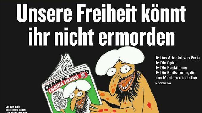 Jetzt erst recht: Deutsche Presse druckt Mohammed-Karikaturen