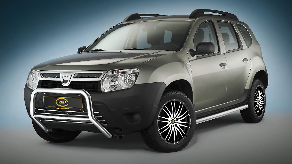 tuning teile f r das billig suv dacia duster. Black Bedroom Furniture Sets. Home Design Ideas