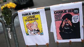 """Neustart nach Attentat: """"Charlie Hebdo"""" nimmt Arbeit wieder auf"""