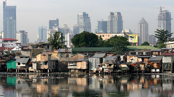 Die philippinische Hauptstadt Manila: Das Land hat derzeit das höchste Wachstum in Asien - nach China.