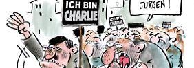 """""""Pegida, verschwinde!"""": Französische Karikaturisten haben genug"""
