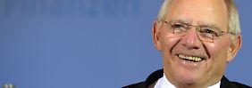 """Darf sich über die """"schwarze Null"""" freuen: Wolfgang Schäuble."""