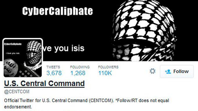 Die Twitter-Seite des US Central Command sieht üblicherweise anders aus.