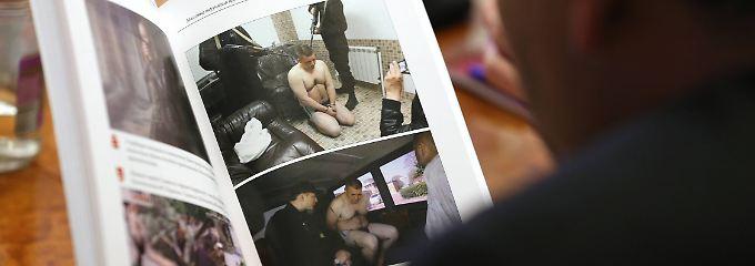 Ein Buch über Menschenrechte macht die Folterpraxis in der Ukraine sichtbar.