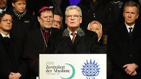 Gauck: Wir alle sind Deutschland.