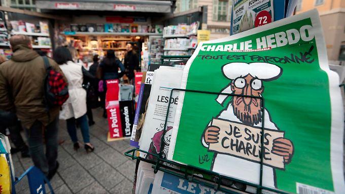 """Der Muhammad auf der aktuellen Ausgabe von """"Charlie Hebdo"""" ist vor allem traurig."""