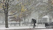 In den kommenden Tagen erwarten weite Teile des Landes Schnee und Schneeregen.