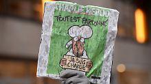 """""""Diese Karikatur ist ein Symbol"""": """"Charlie Hebdo""""-Chef kritisiert Medien"""