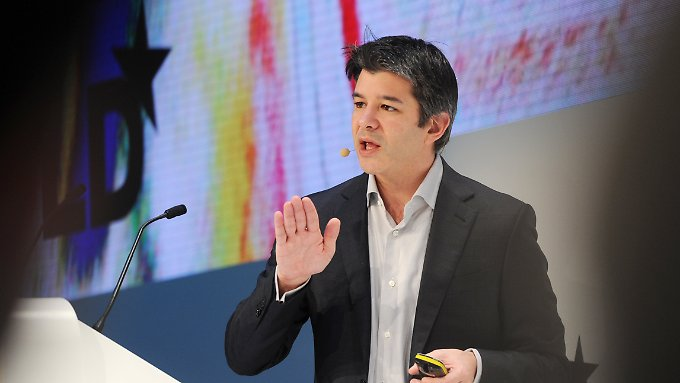 Charme-Offensive in Europa: Uber-Chef Kalanick verspricht 50.000 neue Jobs