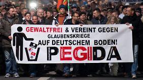 Terrordrohungen gegen Pegida: Finden sie das Demo-Verbot in Dresden richtig?