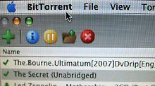 Über das BitTorrent-Netz  lassen sich große Datenmengen verteilen - auch Raubkopien von Musik und Filmen.