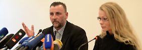Kritik an Versammlungsverbot: Pegida gibt nach Demo-Absage Pressekonferenz in Dresden