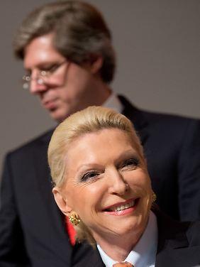 Maria Elisabeth Schaeffler-Thumann und ihr Sohn Georg Schaeffler.