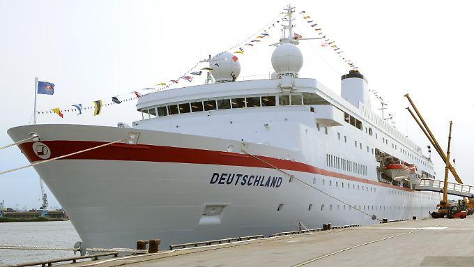 """Das """"Traumschiff"""" geht wohl nicht mehr auf Reisen."""