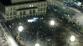Legida wird die angekündigte Menge an Sympathisanten wohl nicht auf die Straße bekommen.
