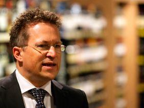 Markus Mosa, der Chef der Edeka-Zentrale, freut sich über das Wachstum der Edeka-Eigenmarke.
