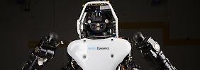 """Härtestes Roboter-Turnier der Welt: Googles """"Atlas"""" ist fit fürs Finale"""