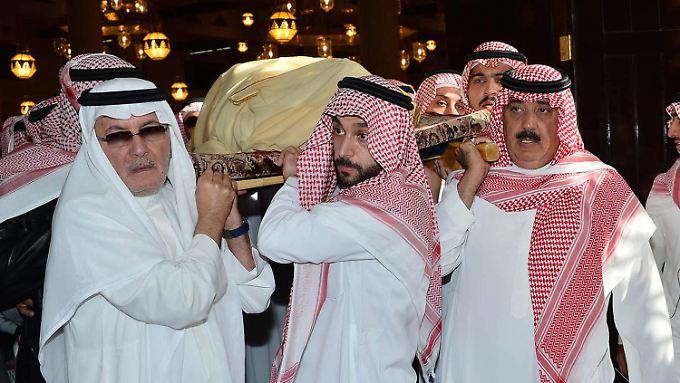 Machtwechsel in Saudi-Arabien: Wulff vertritt Deutschland bei Trauerfeier für König Abdullah