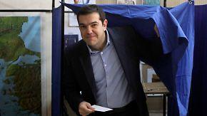 """""""Tag wird in Geschichte eingehen"""": Griechenland wählt ein neues Parlament"""