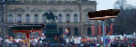 Sonntag in Dresden: Pegida protestiert wieder