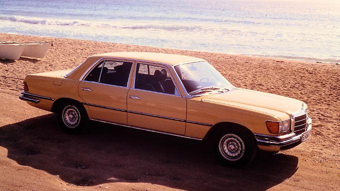 Wer sich heute einen Mercedes SEL 450 6.9 in die Garage stellen will, der muss tief in die Tasche greifen.