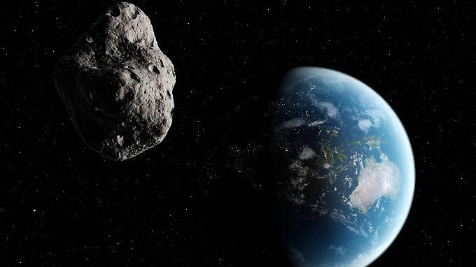 """500-Meter-Brocken """"2004 BL86"""": Riesiger Asteroid rast gefährlich nah an Erde vorbei"""