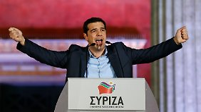 """""""Jetzt beginnt die harte Arbeit"""": Griechen wählen Tsipras zum klaren Sieger"""