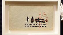"""Verkauft für 40.000 britische Pfund: """"Precision Bombing"""" aus dem Jahr 2000."""