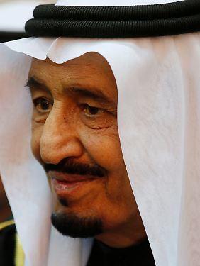 Salman ibn Abd al-Aziz Al Saud, geboren am 31. Dezember 1935 in Riad, König Saudi-Arabiens seit dem 23. Januar 2015.