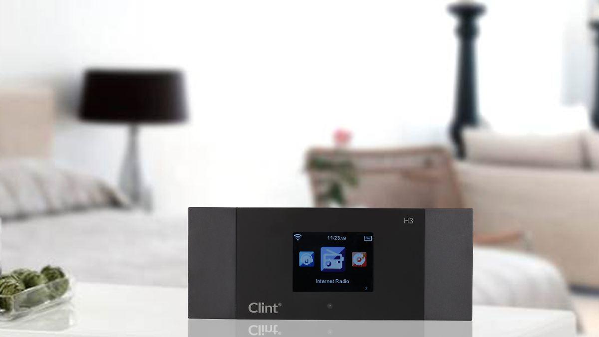Clint H3 möbelt alte Stereoanlagen auf