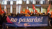 Festnahmen bei FPÖ-Abend in Wien: Linke Aktivisten stören Akademikerball