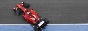Zweiter Formel-1-Testtag in Jerez: Vettels Ferrari furios, Mercedes stottert