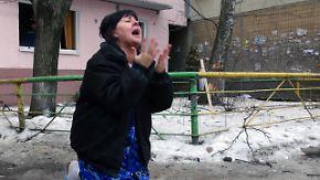 Schwere Kämpfe in der Ostukraine: Amnesty prangert Inkaufnahme von zivilen Opfern an