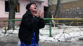 Schwere Kämpfe in der Ostukraine: Steinmeier warnt USA vor Waffenlieferungen