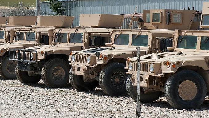 Humvee-Jeeps aus amerikanischer Produktion in Afghanistan: Game-Changer für den Ukraine-Konflikt?